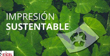 Impresión sustentable