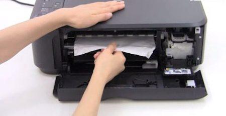 atasco en impresora