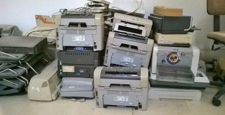 Reciclaje de impresoras